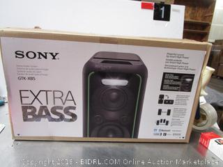 Sony GTK-XB5 (not tested)