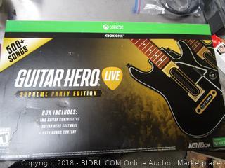 Xbox One Guitar Hero