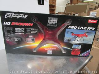 Sky thunder Drone (not tested)