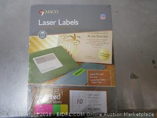 Lazer Labels