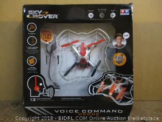 Sky Rover Voice Command Drone  Factory Sealed