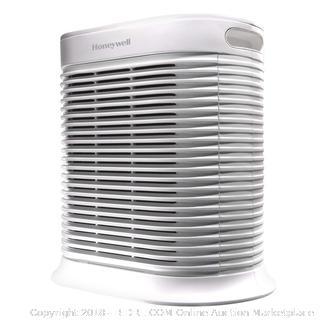Honeywell True Hepa Allergen Air Purifier, Extra-Large Room, White RETAIL$220.01