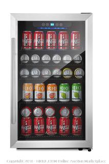 Kalamera 150 Cans Beverage Refrigerator Stainless Steel Touch Control Retail: $375.00