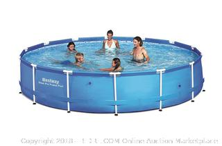 "Bestway Steel Pro 15' x 36"" Frame Pool RETAIL: $165.98"