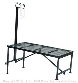 Weaver Leather Livestock Steel Trimming Stand with Wire Headpiece