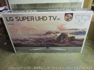 "55"" LG super UHD TV"