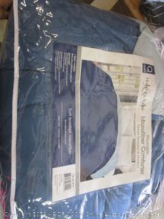 reversible microfiber comforter