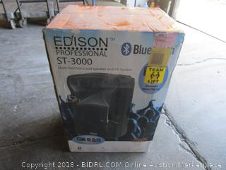 Edison Professional Multi-function Loud Speaker and PA System