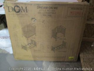 Dream On Me 4 in1 Convertible mini Crib