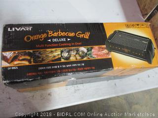Orange Barbecue Grill