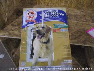Draft Stopper Pet Door