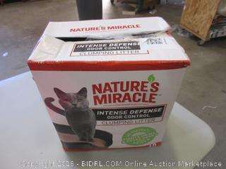 Nature's Miracle Clumping Litter
