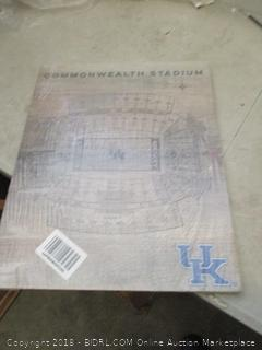 kentucky wildcats pallet pride decor
