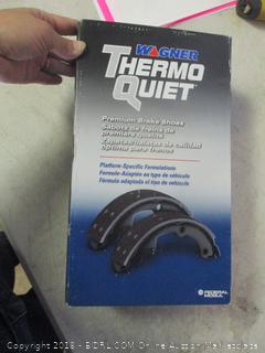 thermo quiet brake shoes