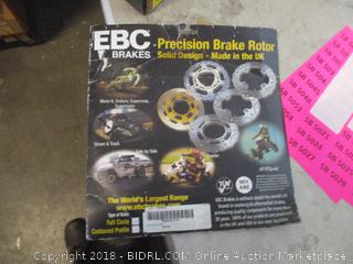 precision brake rotor