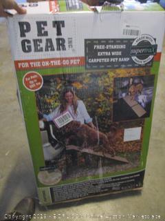 pet gear carpeted pet ramp