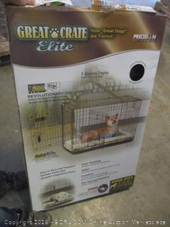 great crate elite for dogs