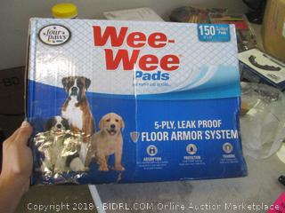 XL puppy wee-wee pads