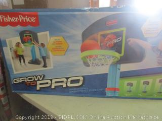 grow to pro children's basketball set