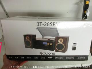 Boytone BT-28SPM record player