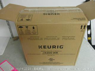 Keurig model K200WR automatic coffee maker