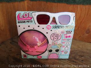LOL surprise biggie pets toys