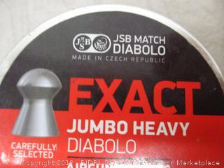 Exact Jumbo Heavy Diablo Pellets