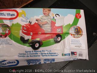 Little Tikes Spray N Rescue Fire Truck