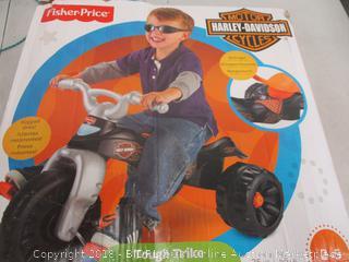 Fisher Price Tough Trike Harley Davidson