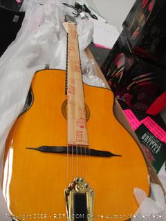 Gypsy Jazz Guitar Damaged