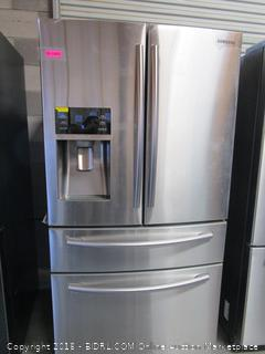 Samsung Refrigerator , LCD Not turning on, Feels Cold, See Pictures