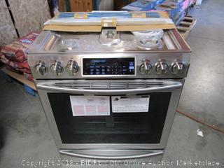 Samsung Oven/Stove Powers On See Pictures