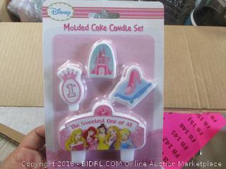Cake Candle Set