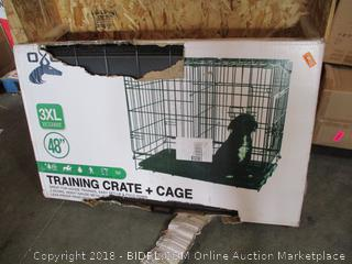 Training Crate + Cage