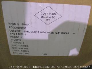 Barcelona Wide Vase