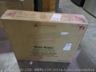 World Market Brinley Fixed Table