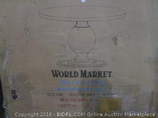 World Market Blanca Round Table