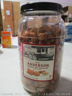 Peanut Butter Filled Peanut Pretzel Nuggets