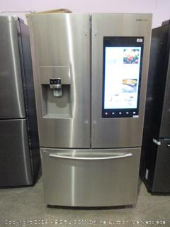 Samsung Refrigerator Powers On, Connects to WiFi, Inside Cameras, Twin Cooling See Pictures