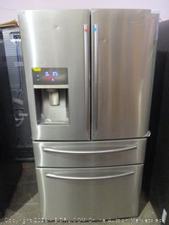 Samsung Refrigerator Powers On, Twin & Metal Cooling,See Pictures