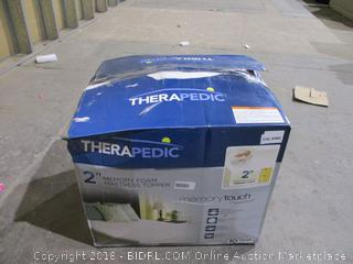 "Therapedic 2"" Memory Foam Mattress Topper"