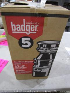 Badger Food Waste Disposal
