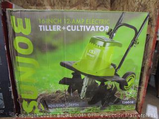 Sunjoe Electric Tiller + Cultivator