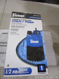 Simer Portable/Submersible Utility Pump