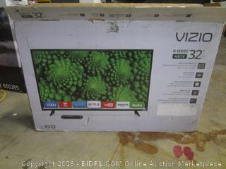 "VIZIO 32"" D-Series HDTV Power On See Pictures"