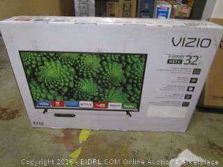 """VIZIO Series 32"""" HDTV   Powers On"""