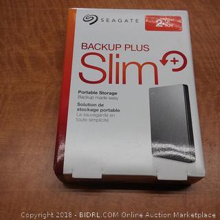 Seagate Backup Plus Slim  Powers On