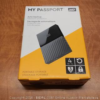 My Passport Auto Backup  Powers On