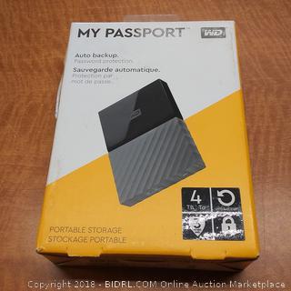 My Passport Portable Storage   Powers On