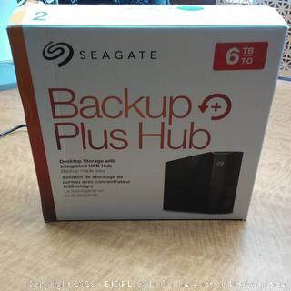 Seagate Backup Plus Hub Powers On